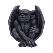 Victor Dark Black Grotesque Gargoyle Figurine