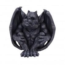 Hugo Dark Black Grotesque Gargoyle Figurine