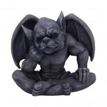Laverne Dark Black Grotesque Gargoyle Figurine