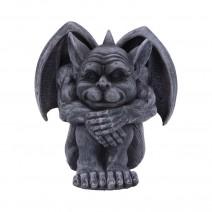 Quasi Dark Black Grotesque Gargoyle Figurine