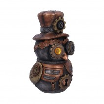 Hootle 22.7cm Steampunk Owl with Top Hat Figurine