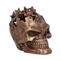 Orion 13.8cm Bronze Steampunk Star Skull Ornament