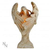 Wings of Peace 39.5cm Light Angel Lamp Figurine