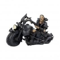 Screaming Wheels Skeleton Biker 18cm