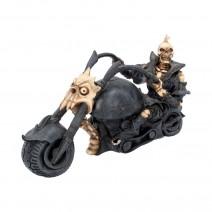 Hell Rider Skeleton Biker
