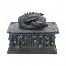Dragon Ivy Tarot Card Holder Box