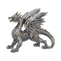 Swordwing Silver Dragon Sword Blade Figurine