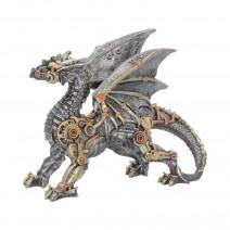 Small Dracus Machina Mechanical Dragon Figure