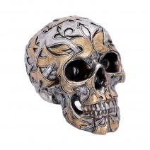 Tribal Traditions Large Metallic Skull Ornament