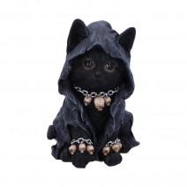 Reapers Feline Cloaked Grim Reaper Cat Figurine