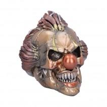 Mechanical Laughter Horror Steampunk Clown Skull Ornament