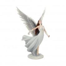 Anne Stokes Ascendance Ornament Pure Angel Figurine