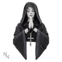 Anne Stokes Gothic Prayer Figurine Wall Plaque