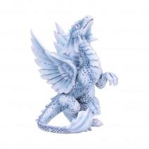 Anne Stokes Small Silver Dragon 11.5cm