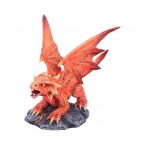 Anne Stokes Small Fire Dragon 13cm
