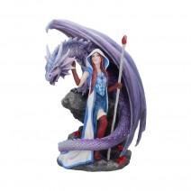 Dragon Mage by Anne Stokes 24cm Dragon Figurine