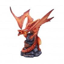 Anne Stokes Adult Fire Dragon 24.5cm