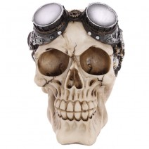 Steam Punk Style Skull with Goggles