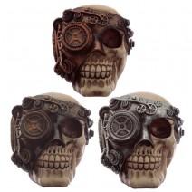 Steampunk Skull Head
