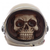 Astronaut Spaceman Skull Head