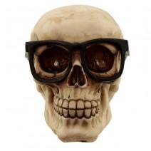Skull Wearing Glasses