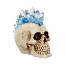 LED Crystal Mohawk Hawk Skull
