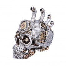 Pipe Dream Steampunk Modified Human Skull.