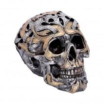 Tribal Traditions Small Metallic Skull
