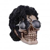 Bad Michael Jackson King of Pop Inspired Skull