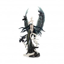 Nene Thomas Faery of Ravens Figurine Dark Fairy Raven Ornament