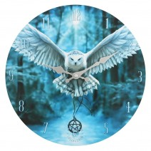 Awake Your Magic Wall Clock by Anne Stokes