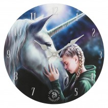 The Wish Wall Clock By Anne Stokes