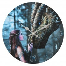 Once Upon a Time Wall Clock by Anne Stokes