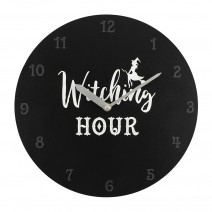 Witching Hour MDF Clock
