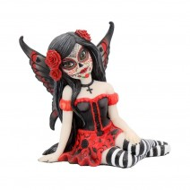 Rosalia Figurine Sugar Skull Fairy Ornament