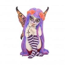 Esmerelda Figurine Sugar Skull Fairy Ornament