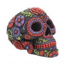 Sugar Blooms Skull Ornament 18cm