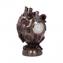 Bronze Heart Beat Steampunk Anatomical Mechanical Heart Figurine Ornament