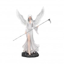 Mercy Angelic Fairy Reaper With Scythe 61cm