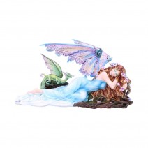 Dreamer Fairy and Dragon Ornament