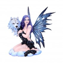 Spirit Wolf Fairy Ornament