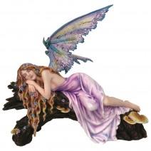 Drema Sleeping Woodland Fairy Figurine Ornament