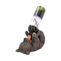 Staffordshire Bull Terrier Dog Guzzler Wine Bottle Holder