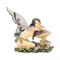 Small Toadstool Fairy Figure Serena 13cm