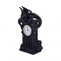Duelling Dragons Clock Dragon Ivy Mantel Clock