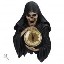 Darkest Hour Wall Hanging Grim Reaper Clock