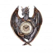 Dracus Horologium Steampunk Dragon Wall Clock