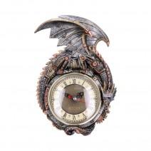 Clockwork Combustor Steampunk Dragon Wall Clock